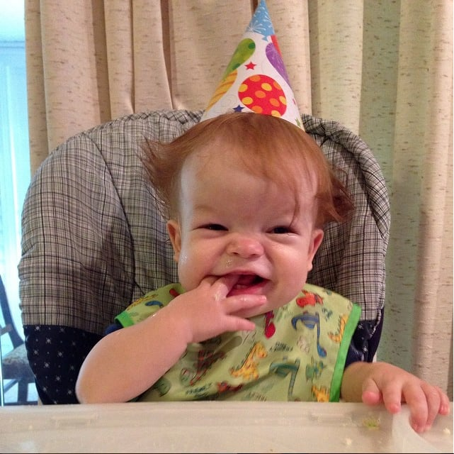 A Helmet-Free Jack on His First Birthday