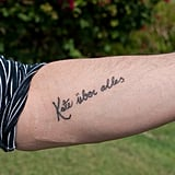 """Kate Moss's Husband Jamie Reveals New """"Kate Above All"""" Tattoo in Jamaica"""