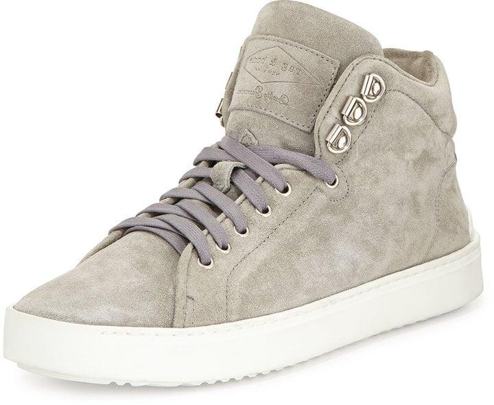 Rag & Bone Kent Suede High-Top Sneaker ($350)