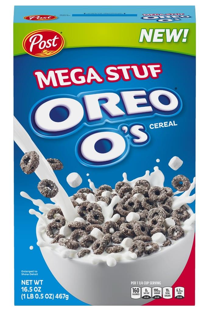 Post Oreo O's  Mega Stuf Cereal ($4)