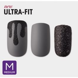 imPRESS Press-on Manicure in Medium in Dark Night