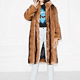 & Other Stories Faux Fur Coat