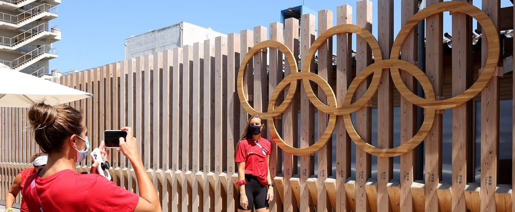 Athletes Give BTS Look at Tokyo Olympic Village on TikTok