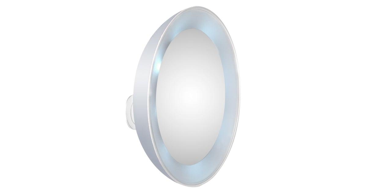 Tweezerman Led 15x Lighted Mirror Best Makeup Mirrors