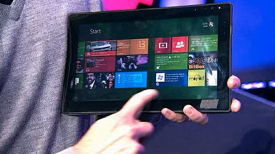 Microsoft Shows Off Windows 8