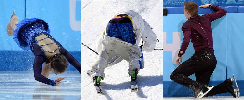 Falls and Slips at the 2014 Winter Olympics | GIFs
