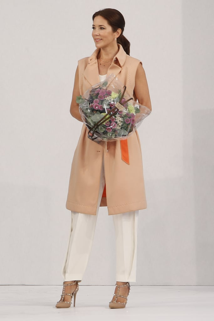When She Rocked a Sleeveless Coat to Copenhagen Fashion Week
