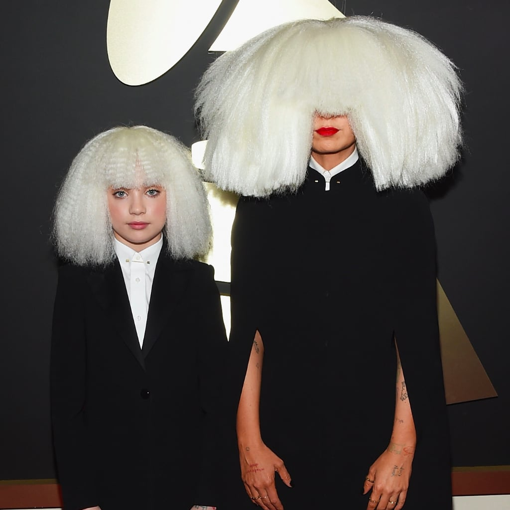 Sia's Wig At the Grammys Wins For Craziest of theNight