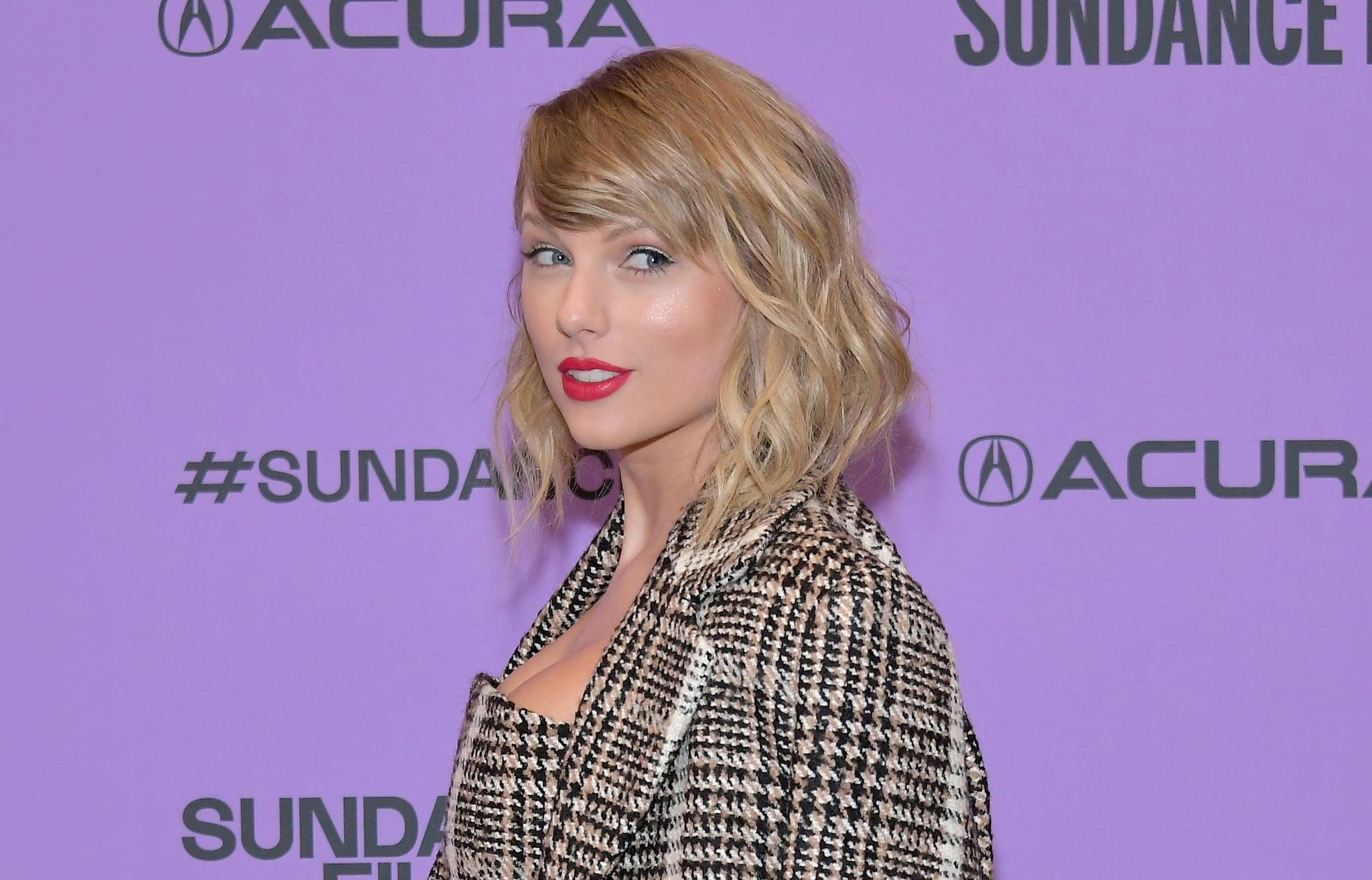 PARK CITY, UTAH - JANUARY 23: Taylor Swift attends the 2020 Sundance Film Festival -