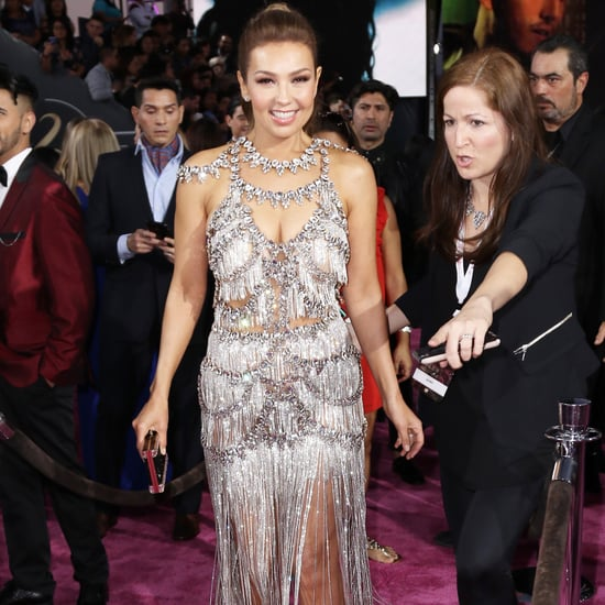Thalia's Dress at Premio Lo Nuestro 2017