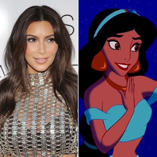 Does Kim Kardashian Look Like Jasmine From Aladdin?
