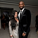 Vanessa Laine Bryant and Kobe Bryant at Diddy's 50th Birthday Party