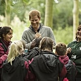 Prince Harry Visits The Wilderness Foundation September 2017