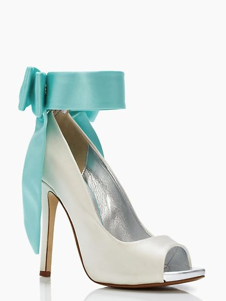 8a1c21eff011 Kate Spade New York Grande Bow Blue Ankle-Tie Heels ( 229 ...