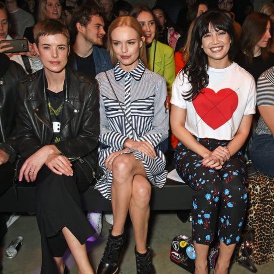 Celebrities at London Fashion Week | Autumn Winter 2017