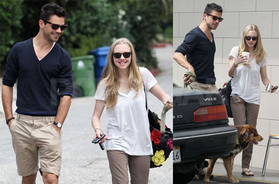 Pictures of Amanda Seyfried With On-Again Boyfriend Dominic Cooper