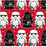 Star Wars Darth Vader and Stormtroopers Christmas Wrapping Paper Roll