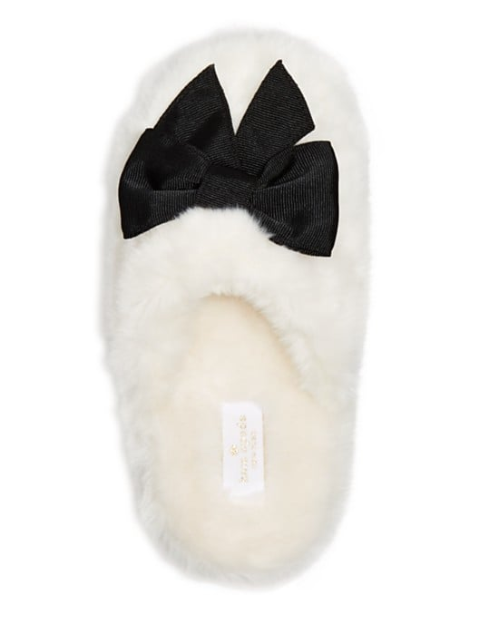 Cozy faux-fur slippers