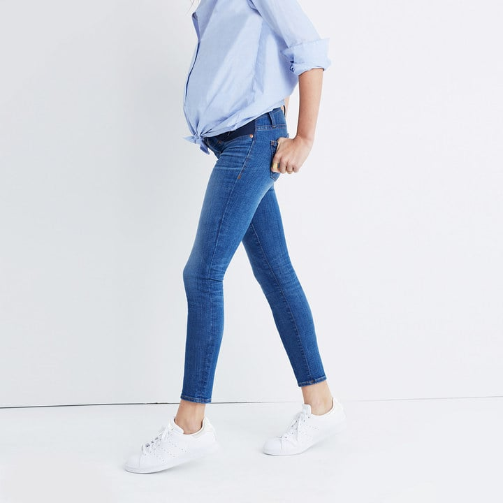 Madewell Maternity Skinny Crop Jeans