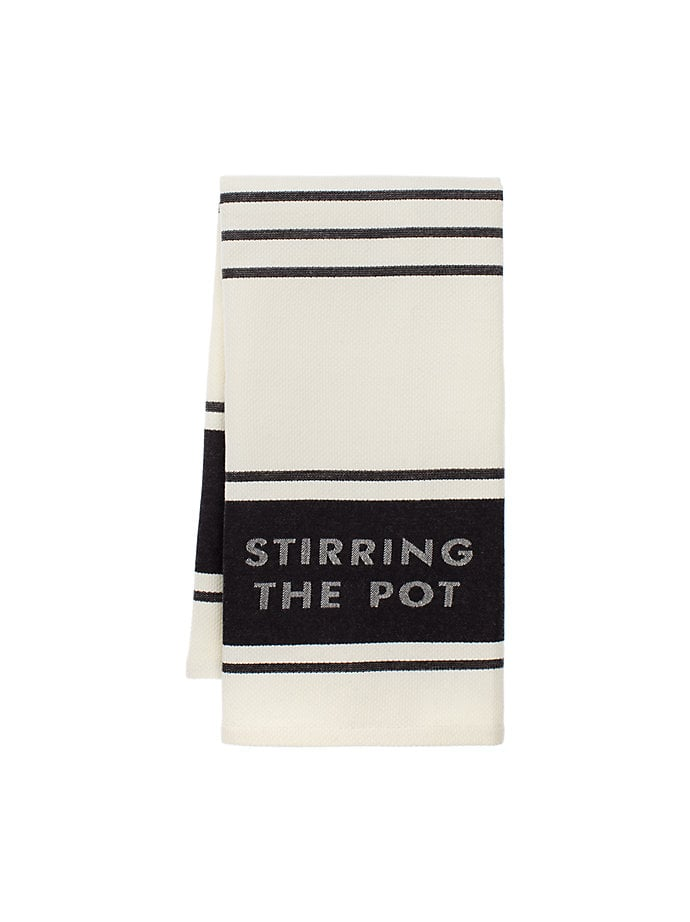 Diner Stripe Kitchen Towel ($10)