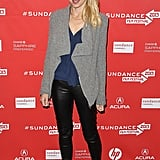 Naomi Watts wore sneakers on the red carpet at Sundance on Friday.