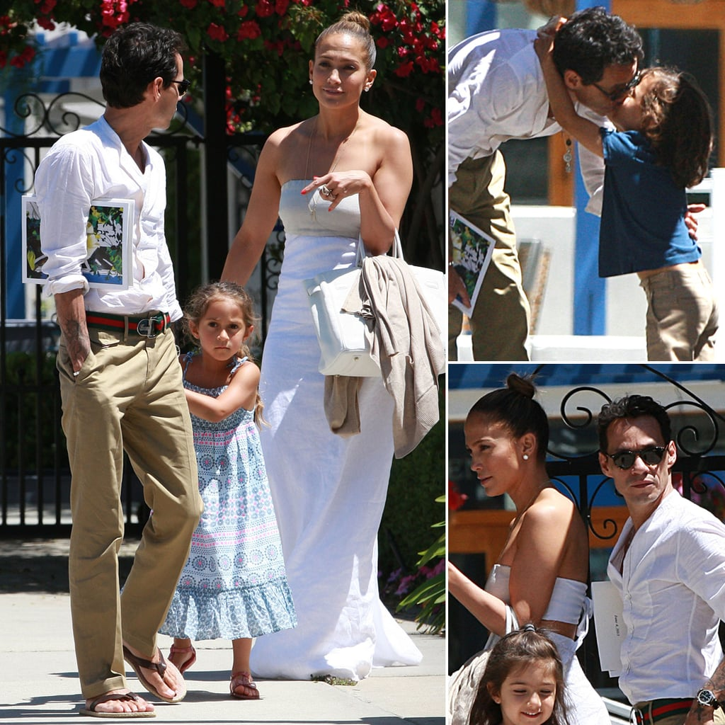 Jennifer Lopez and Marc Anthony With Their Kids | Photos