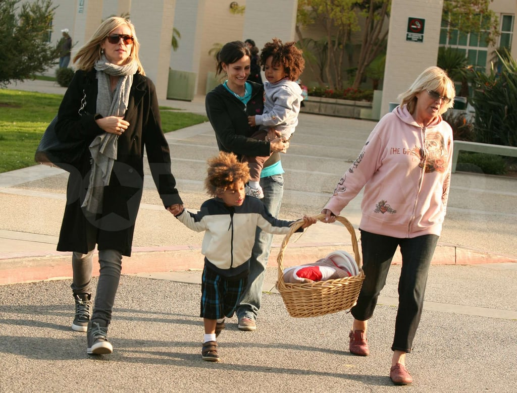 Heidi Klum and Her Kids at the Park
