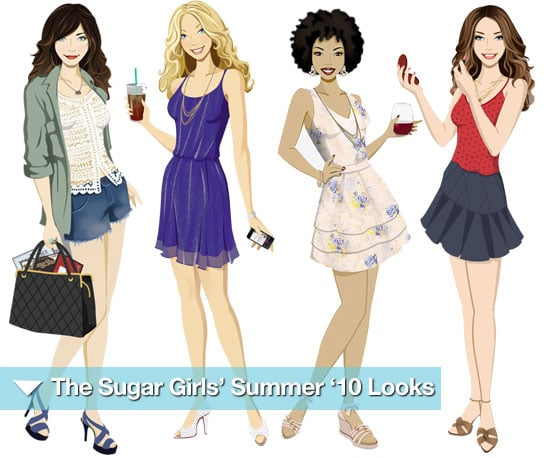 Sugar Girls Illustrations