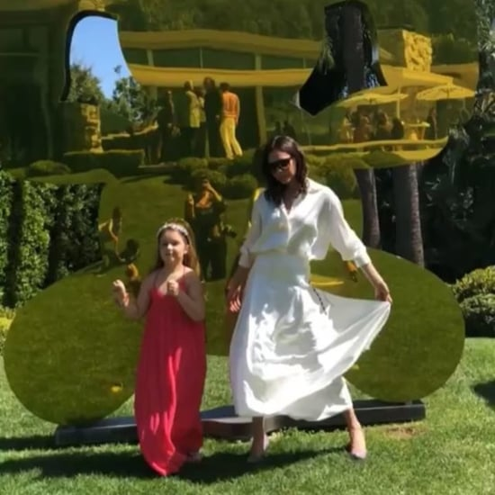 Victoria Beckham Dancing With Harper on Instagram 2018