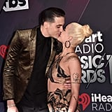 In March 2018, Halsey and G-Eazy shared a sweet kiss upon arriving at the iHeartRadio Music Awards in LA.