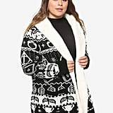 Harry Potter Horcrux Fair Isle Sherpa Cardigan