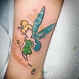 Tinker Bell With Gold Magic