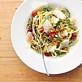 Easy Vegetarian Recipe: Pasta With Pesto and Roasted Tomatoes