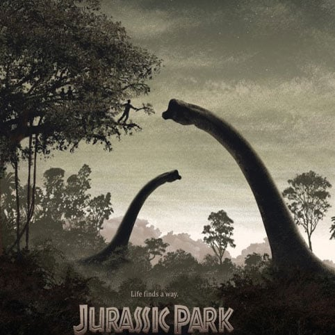 Jurassic Park Limited-Edition Poster