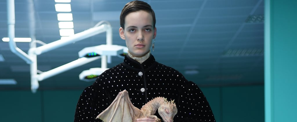 Models Walked Down the Gucci Runway Carrying Dragons, and That's Not Even Half of It