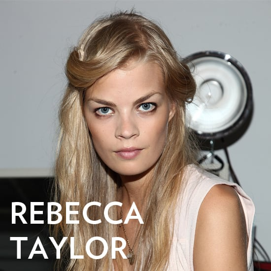 Rebecca Taylor Spring 2013 Hair and Makeup