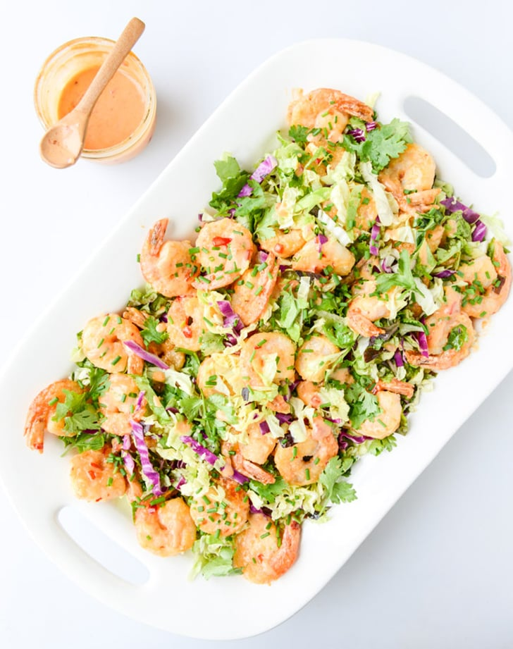 Bang Bang Shrimp With Napa Cabbage Slaw