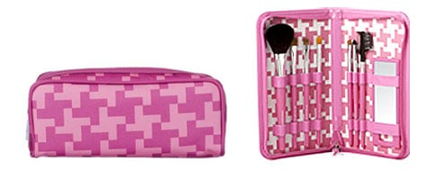 Think Pink: Sonia Kashuk Pouch of Pink Makeup Case & Brush Set