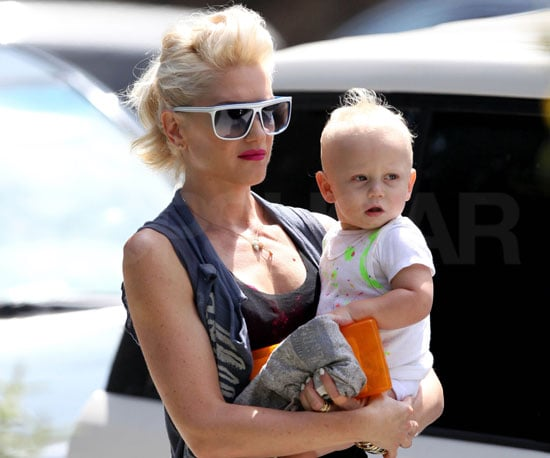 Photo Slide of Gwen and Zuma in LA
