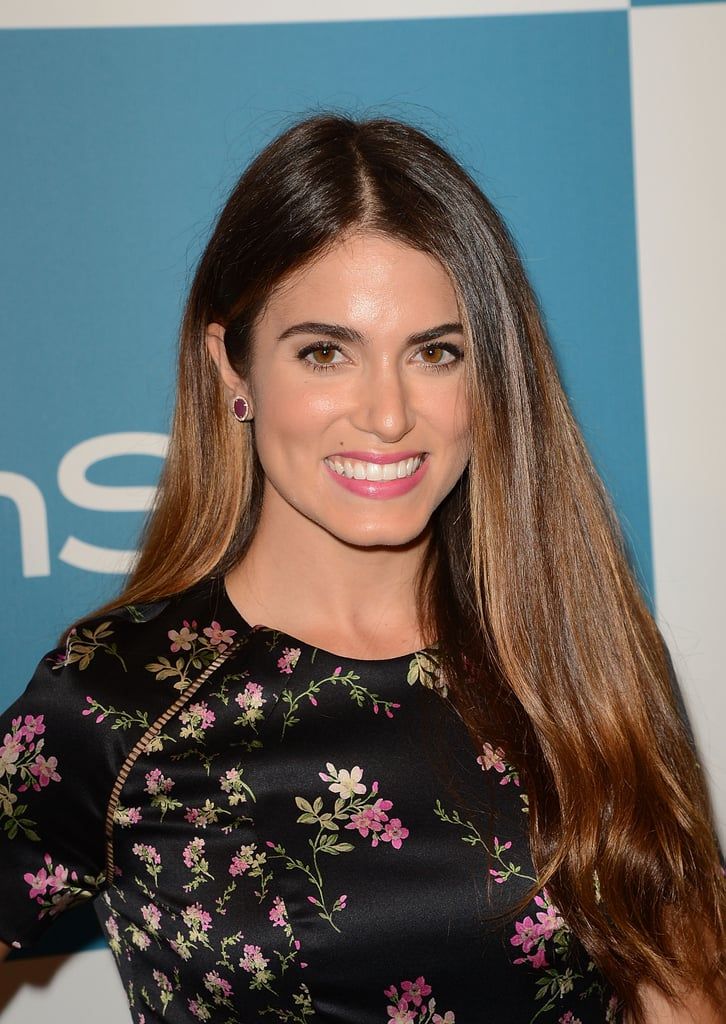 Nikki Reed gave a smile at InStyle's Summer party in LA.