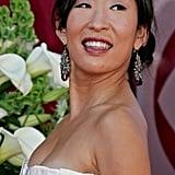 Sandra Oh at the 57th Emmy Awards