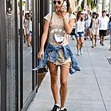 July in Los Angeles
