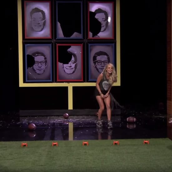 Carrie Underwood Andy Samberg on Jimmy Fallon September 2015