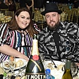 Pictured: Chrissy Metz and Chris Sullivan