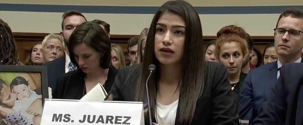 Yazmin Juarez Testimony on ICE July 10 2019