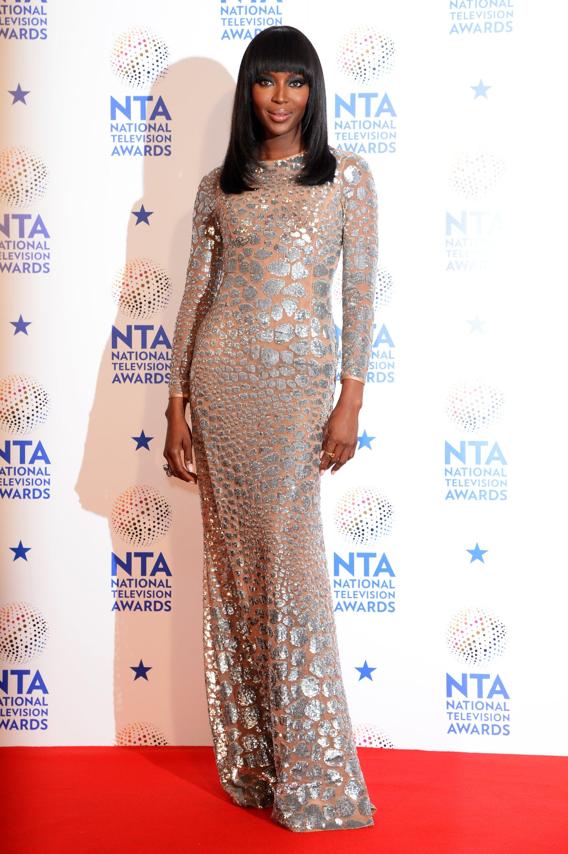 Naomi Campbell at the 2014 National Television Awards
