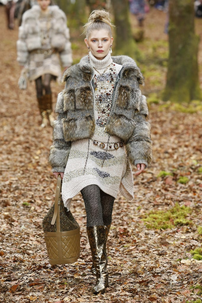 Neutral-Toned, Furry Options Were in Abundance