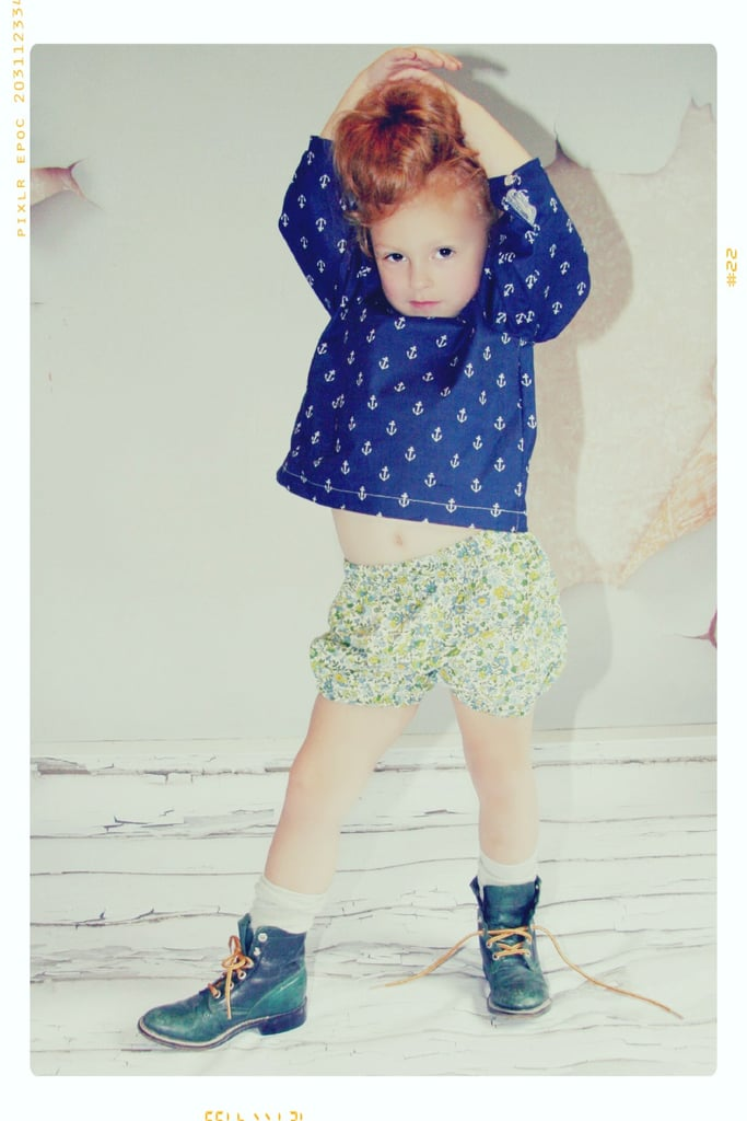 Anchors Away Blouse and Mini Garden Shorts