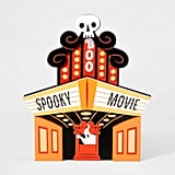 Mini Mantle Spooky Movie Theater Halloween Decor