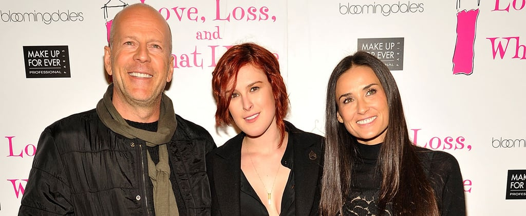 Demi Moore and Bruce Willis Talk About Daughter Rumer